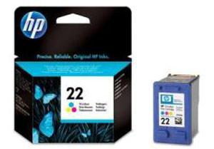 HP ORIG. n.22 DESKJET 3910/PSC1410 C9352AE TRICROMIA ML.5