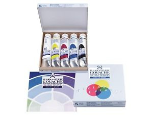 5508820407 TEMPERA TALENS EXTRA FINE SET 5 TUBI 20ML COLORI PRIMARI