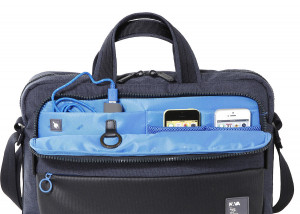 PS081BLB PASSENGER BRIEFCASE TACH BLUE/LIGHT BLUE