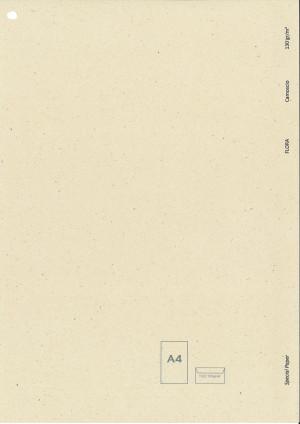 908.1.03.130 CARTA FLORA A4 CAMOSCIO GR130 100FF